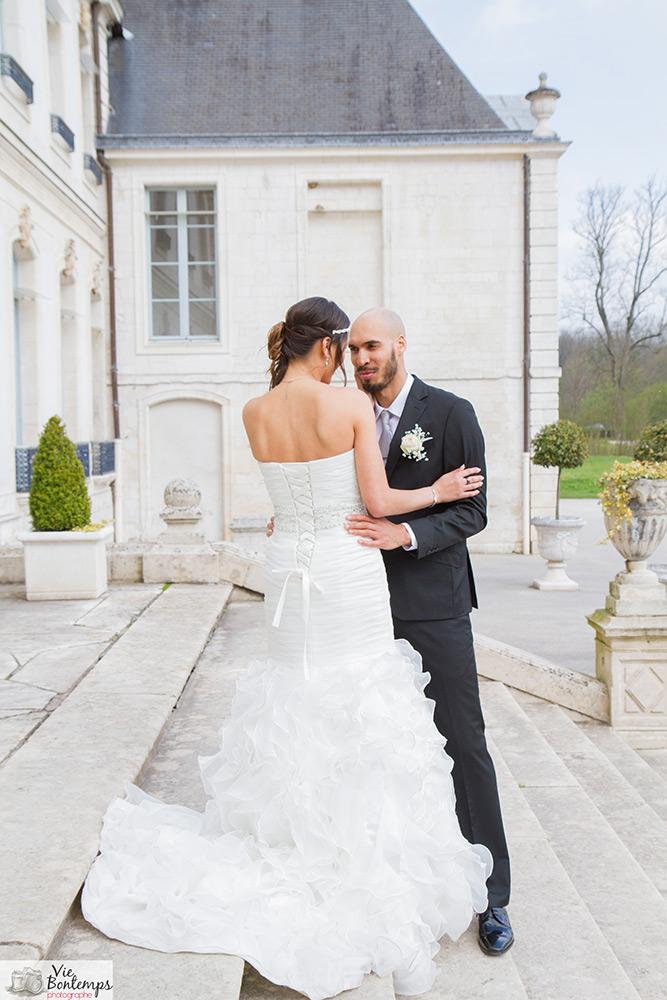 Photo de couple dans un joli cadre